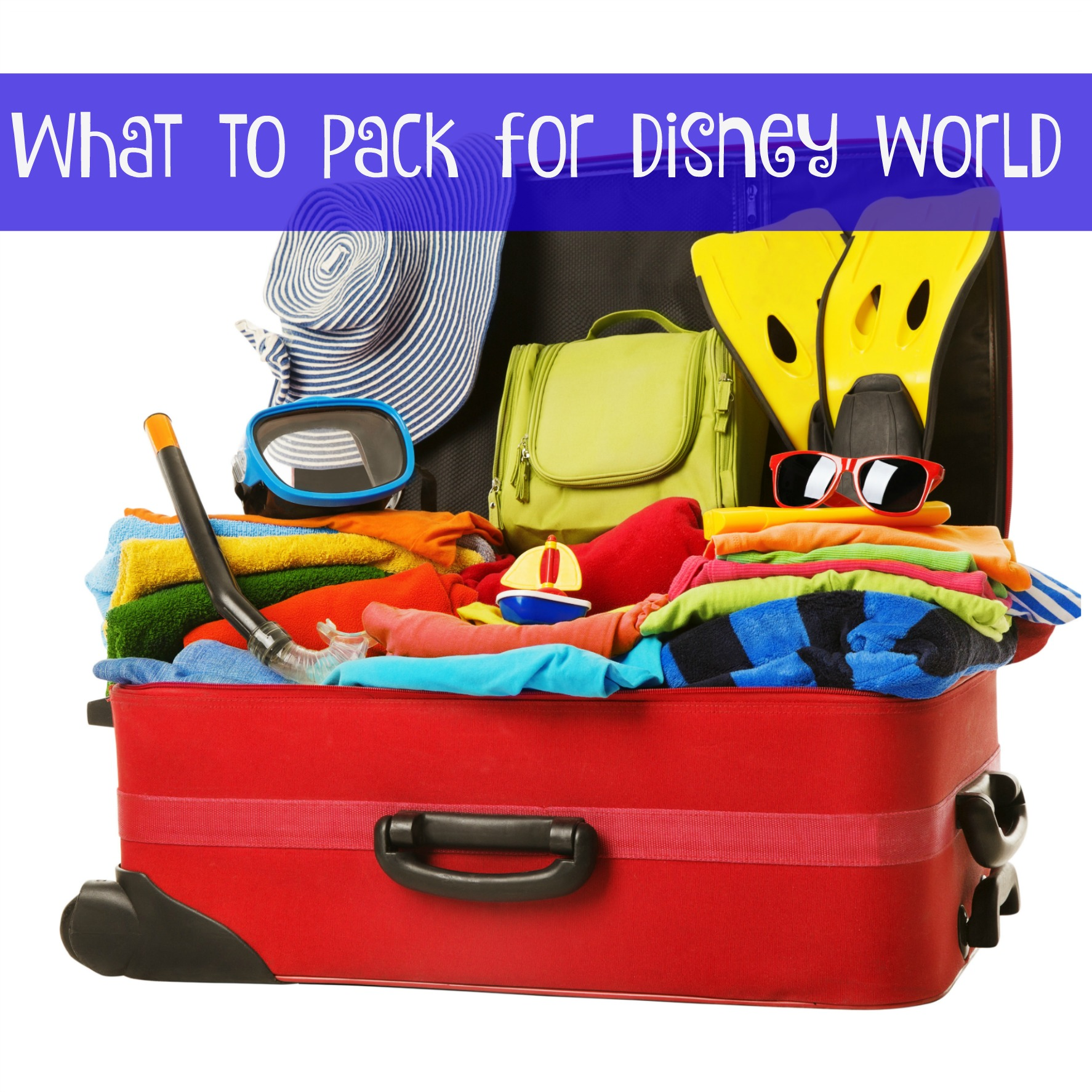 whattopackdisneyworld